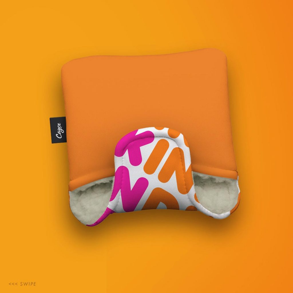 Dunkin donuts headcover rear
