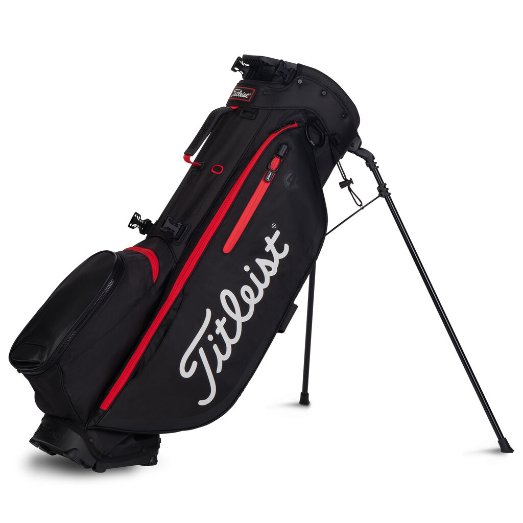 Titleist Jet Black Collection Players 4 Bag