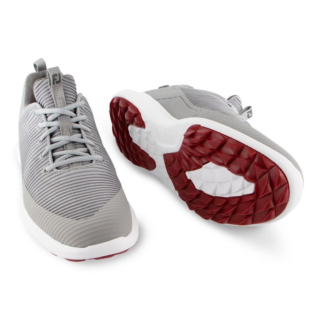 footjoy flex xp grey and red