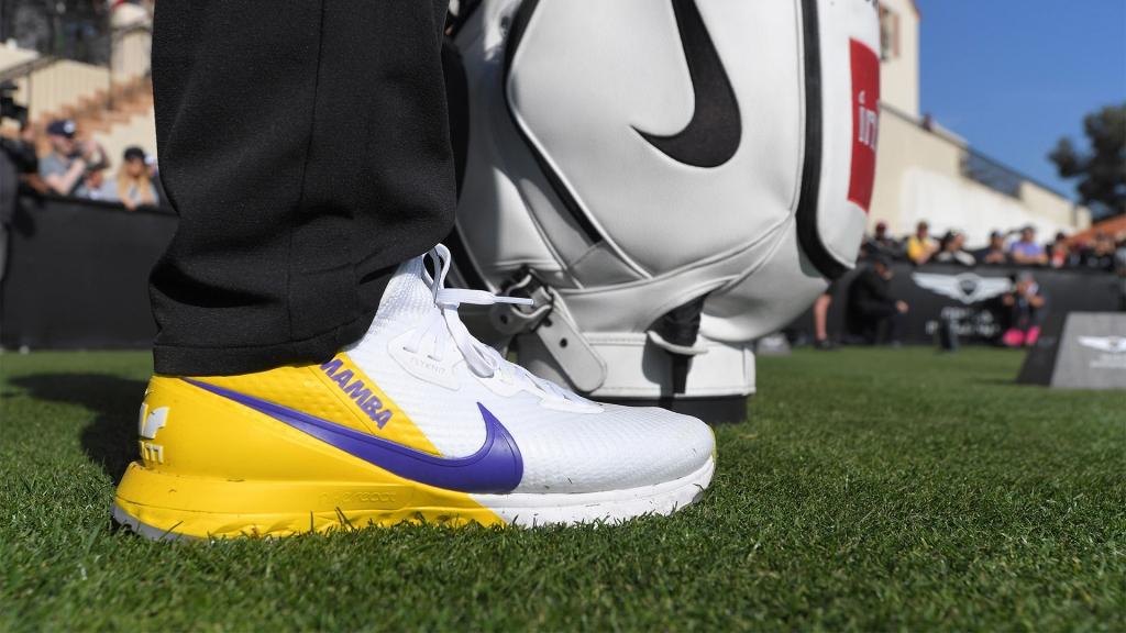 Brooks Koepka Kobe Bryant shoes