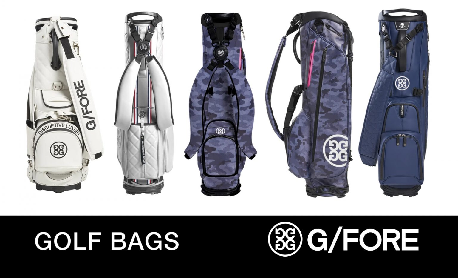 G/Fore Golf Bags 2021