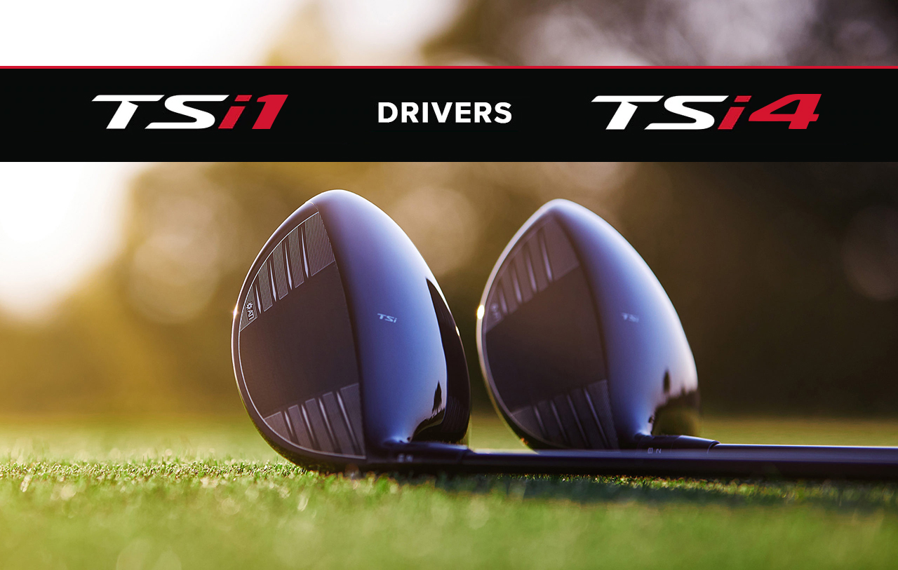 Titleist TSi4 and TSi1 Driver