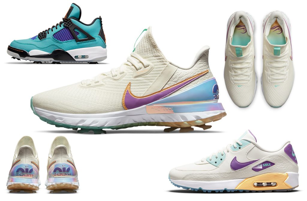 Nike U.S. Open 2021 Limited Edition Torrey Pack golf shoes