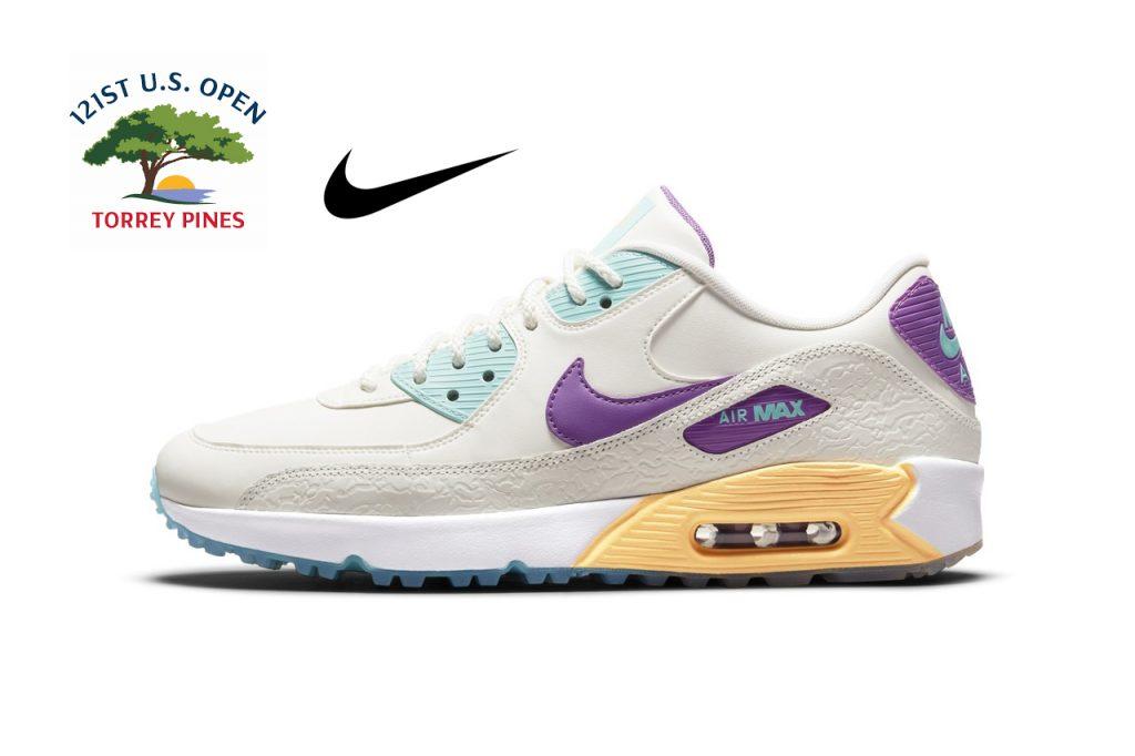 Nike U.S. Open 2021 Air Max 90 G NRG golf shoes