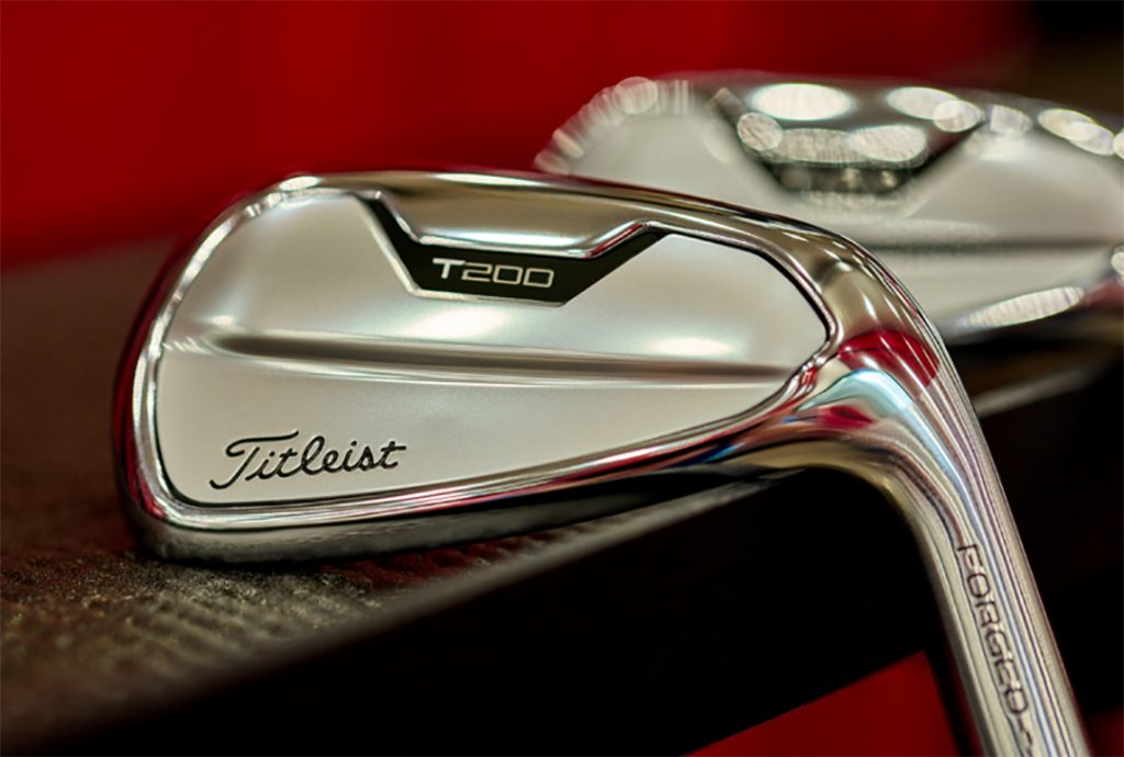 The new Titleist T200 Irons for 2021