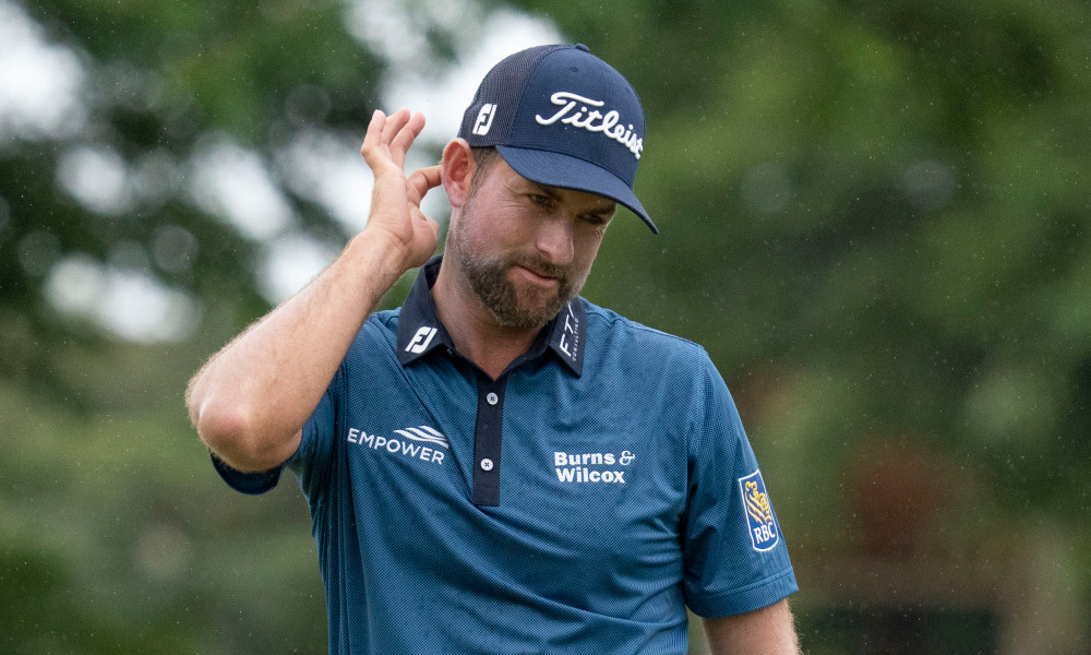 Webb Simpson at the 2021 Sony Open in Hawaii