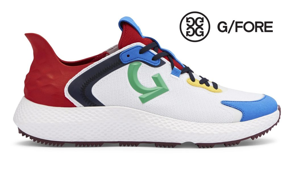 G/FORE MG4X golf shoes in poppy/snow