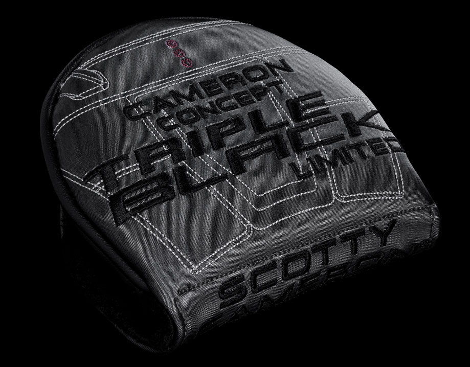Scotty Cameron Phantom X 9.5 Triple Black Headcover